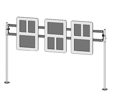 ZSpace Single Menu Frame