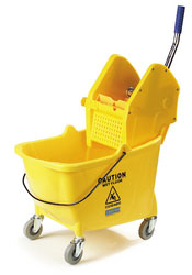 Flo-Pac Mop Bucket/Wringer Combination