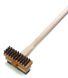 Double Broiler King Brush