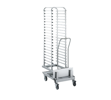20 trolley tray rack for 201 oven (standard pitch)