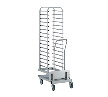 16 Tray rack trolley for 201 oven (increased pitch)