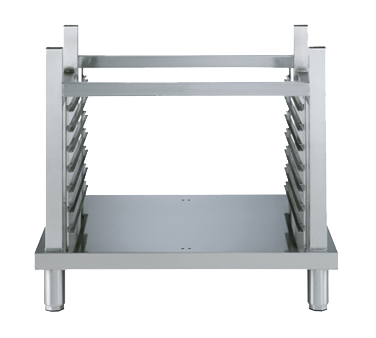 Open base with rack guides for 61 and 101 oven