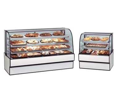 Curved Glass Non-Refrigerated Bakery Case