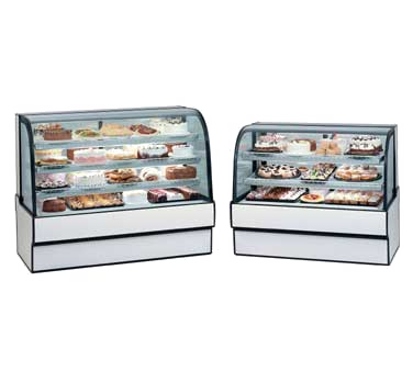 Curved Glass Refrigerated Bakery Case