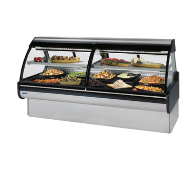 Curved Glass Refrigerated Maxi Deli Case