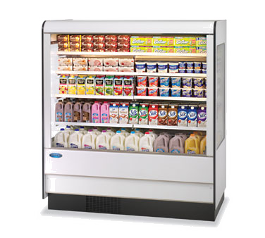 Specialty Display High Profile Self-Serve Refrigerated Dairy Mer