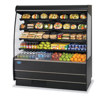 Specialty Display High Profile Self-Serve Refrigerated Merchandi