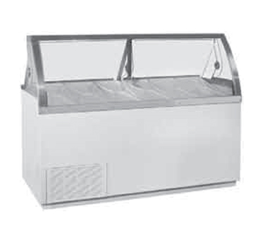 VisiDipper Ice Dipping Cabinet-Wide/Gelato Case