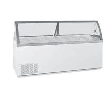VisiDipper Ice Cream Dipping Cabinet-Wide/Gelato Case