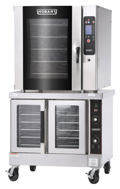 Stacking kit for 10F Combi on standard convection oven