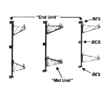 Super Erecta® Intermediate Bracket